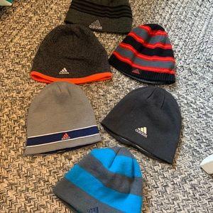 Bundle of Adidas knit hats